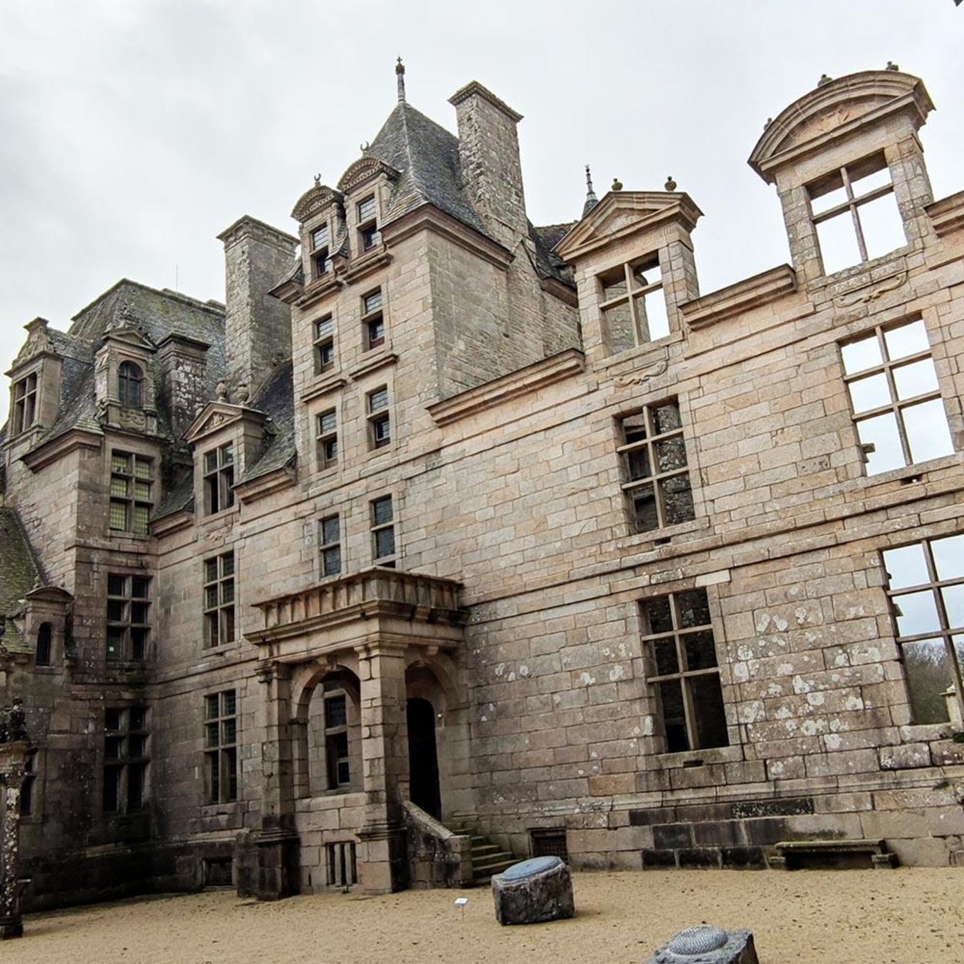 Le Château de Kerjean par Anne-Flore Marziou