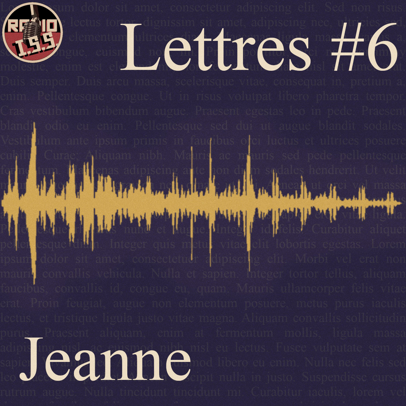 Lettres #6 : Jeanne