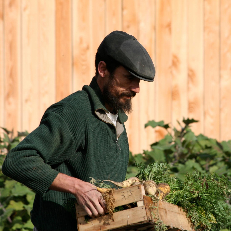 Xavier Mathias, auteur, musicien, agriculteur et permaculteur