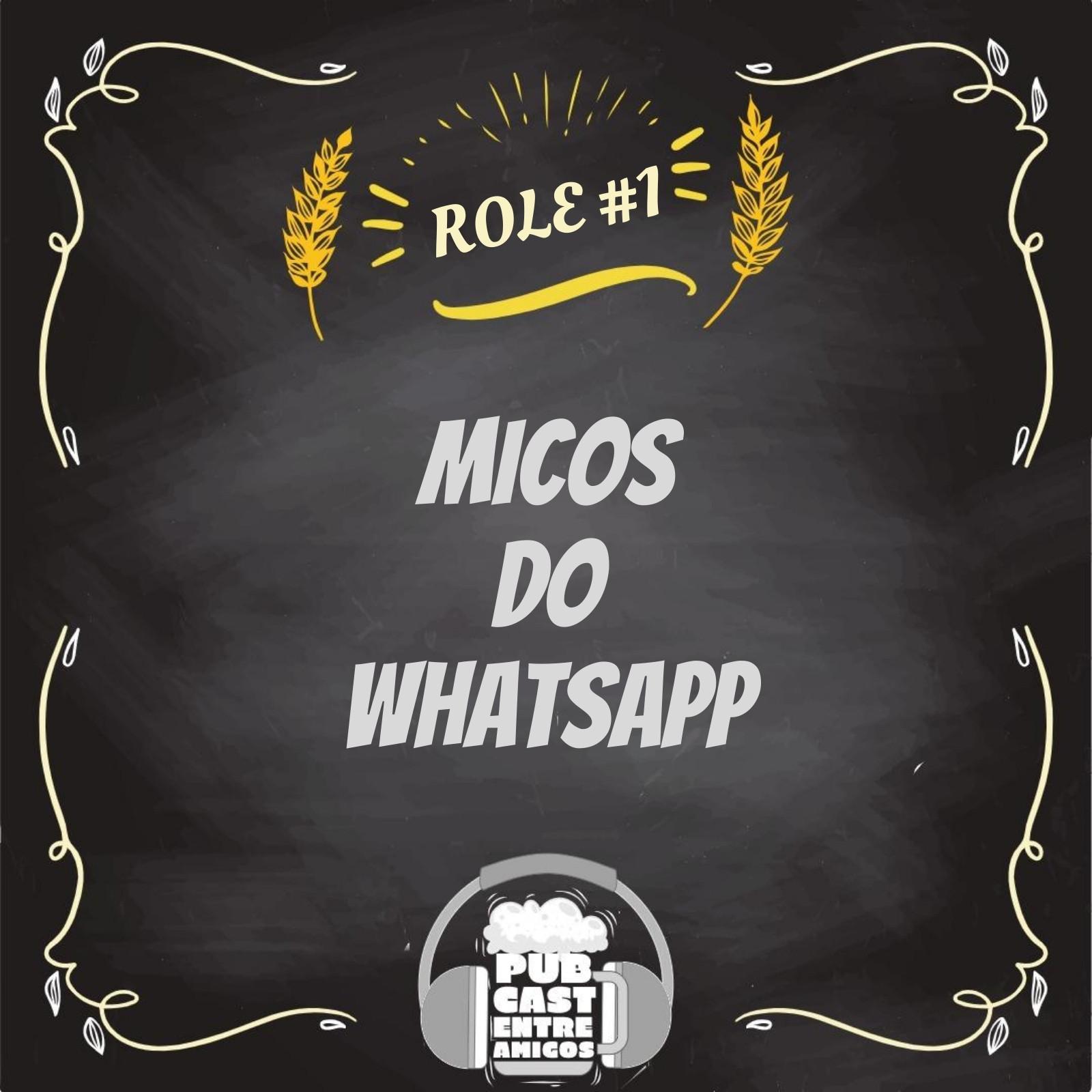 PubCast Rolê#1 - Micos do Whatsapp