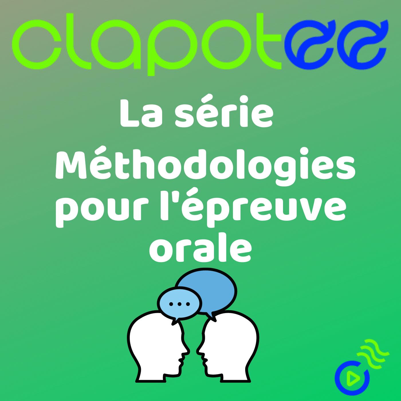 FRANÇAIS - Méthodologies pour l'épreuve orale