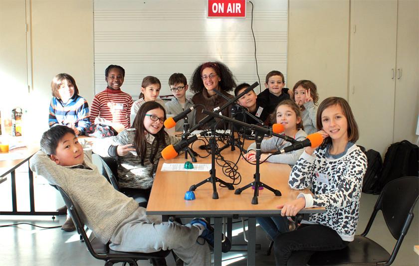 5 ateliers radio avec les enfants (7/10 ans) de l'Union Saint-Bruno Bordeaux !