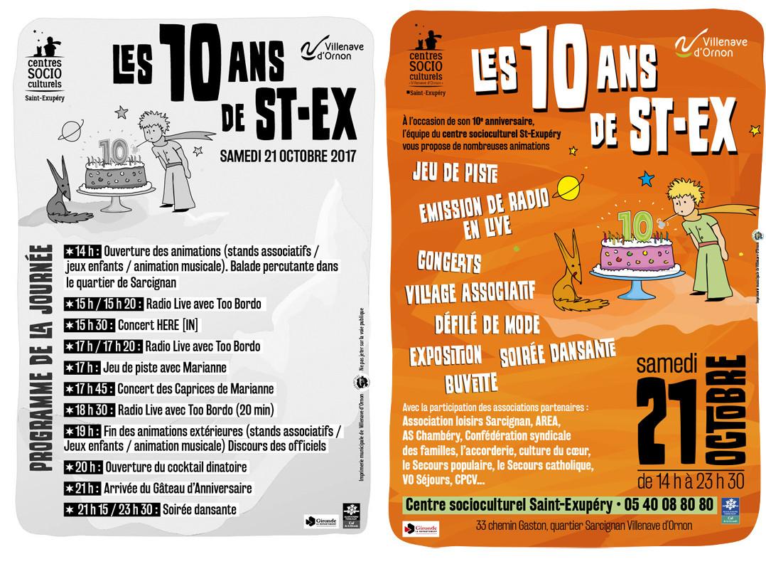 On y était ! [2017] : Les 10 ans de l'Espace Saint-Exupéry, le centre socioculturel de Villenave d'Ornon