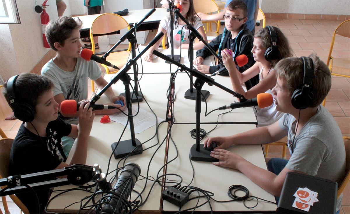 Stage radio jeunesse > Ici c'est Roaillan !